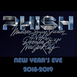 PHISH - New Year's Eve @ Madison Square Garden 2018-19