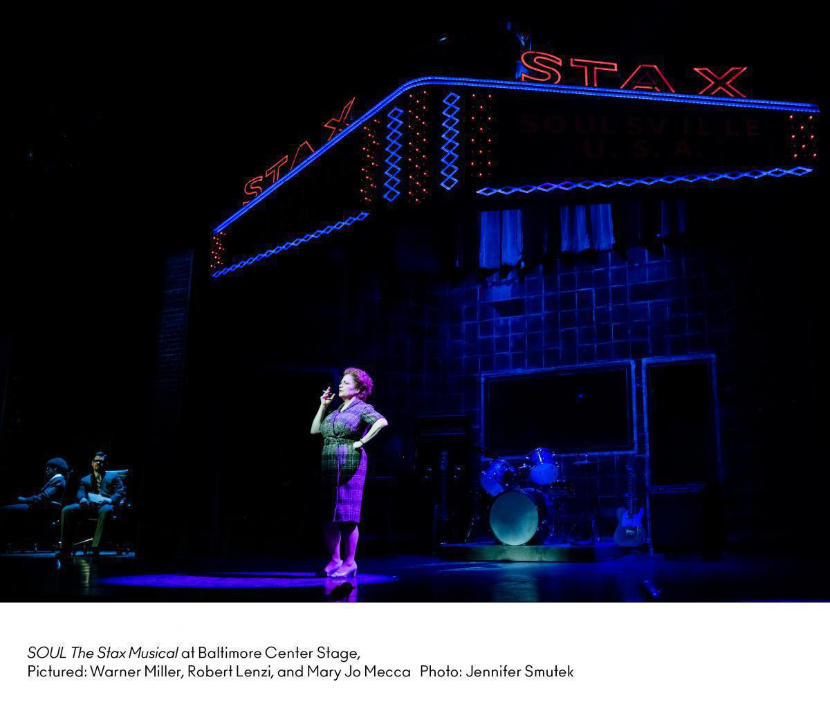 Photo 6 in 'SOUL -  The STAX Musical' gallery showcasing lighting design by Mike Baldassari of Mike-O-Matic Industries LLC