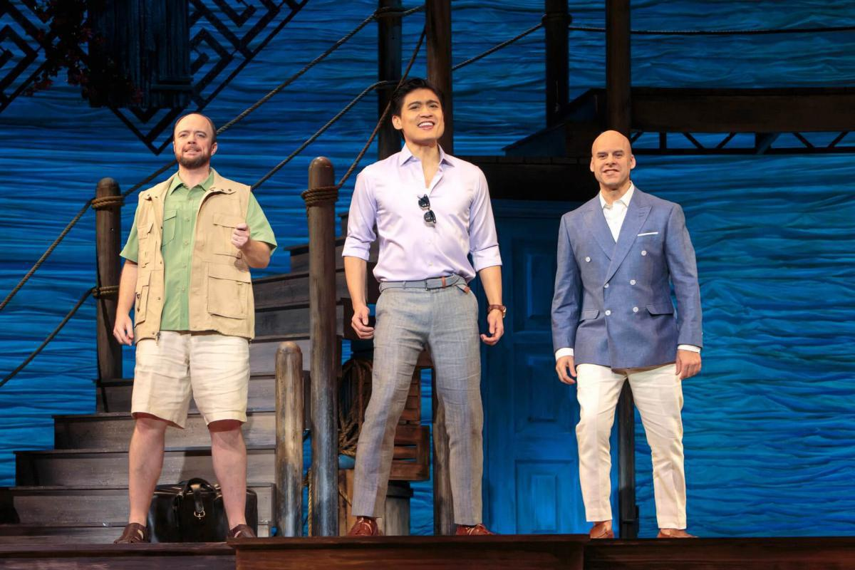 Photo 1 in 'Mamma Mia' gallery showcasing lighting design by Mike Baldassari of Mike-O-Matic Industries LLC
