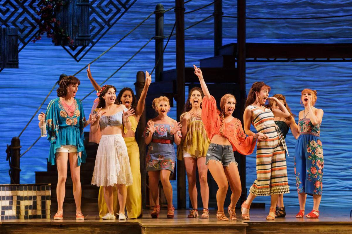Photo 4 in 'Mamma Mia' gallery showcasing lighting design by Mike Baldassari of Mike-O-Matic Industries LLC