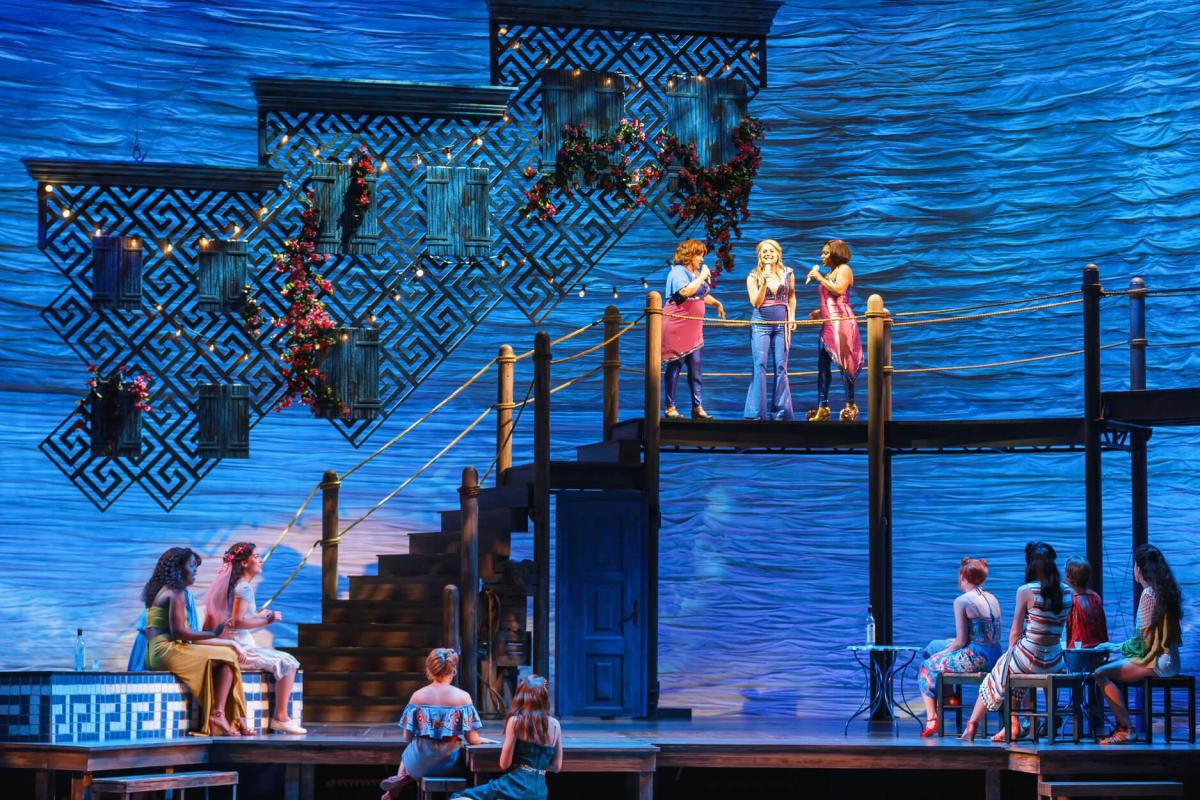 Photo 5 in 'Mamma Mia' gallery showcasing lighting design by Mike Baldassari of Mike-O-Matic Industries LLC
