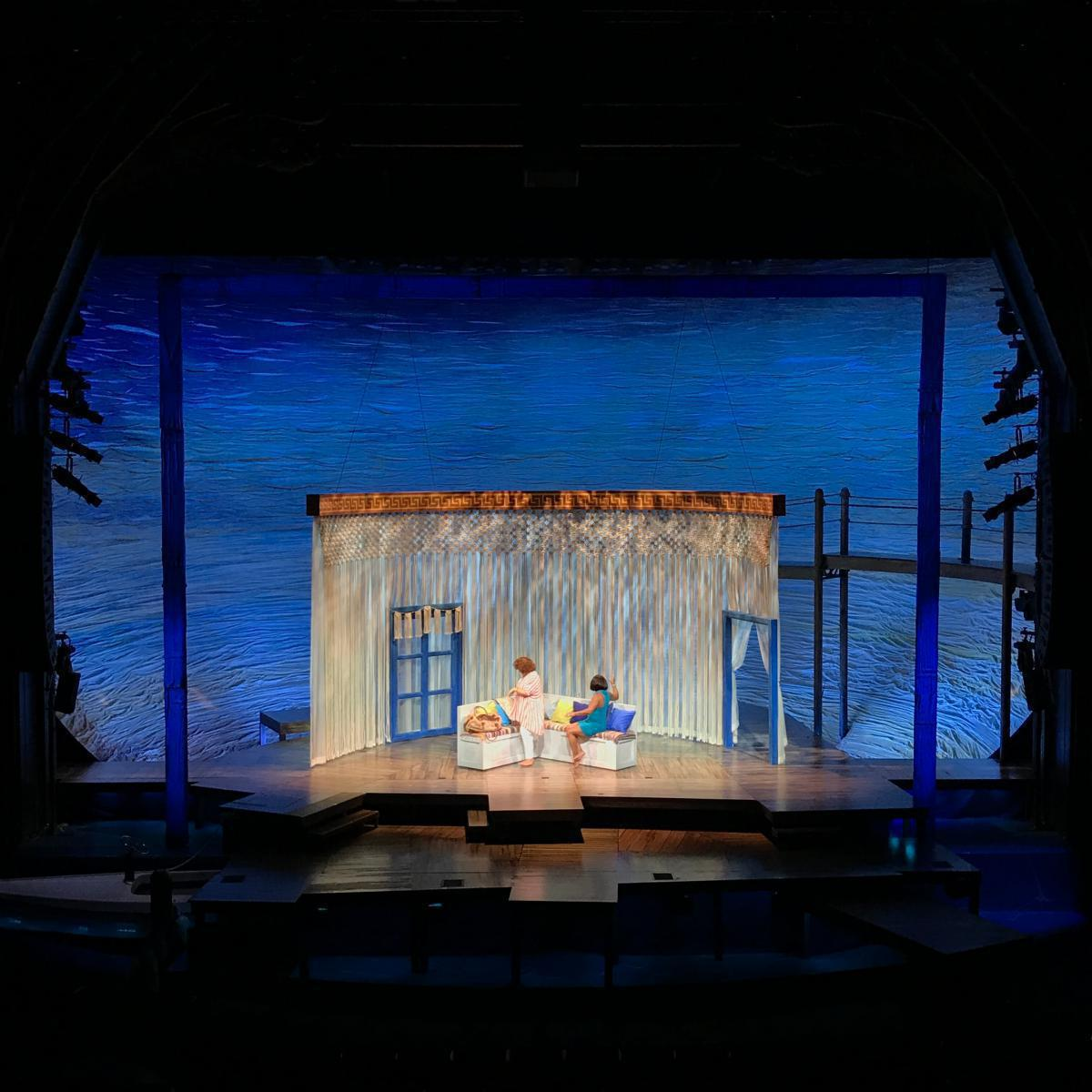Photo 8 in 'Mamma Mia' gallery showcasing lighting design by Mike Baldassari of Mike-O-Matic Industries LLC
