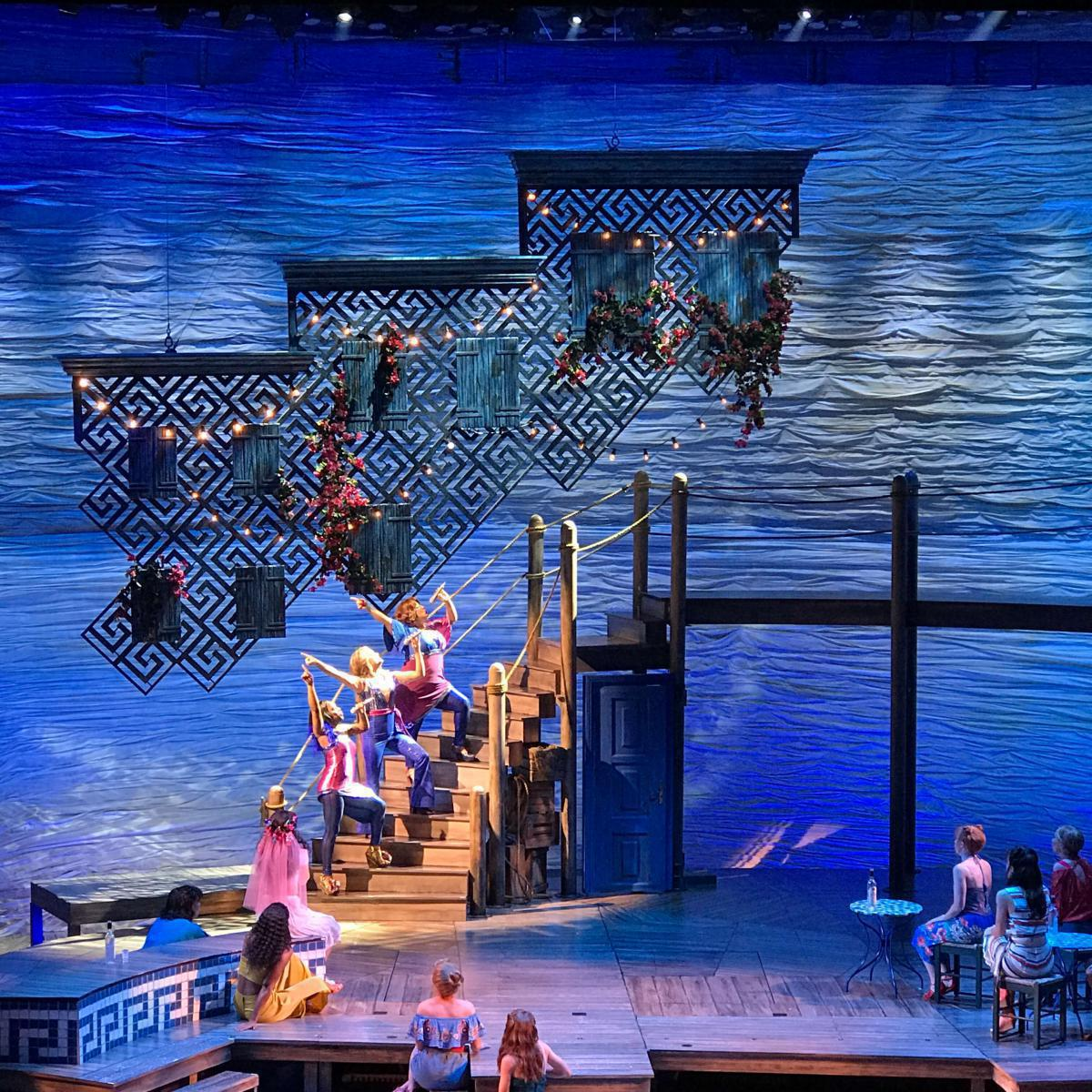 Photo 10 in 'Mamma Mia' gallery showcasing lighting design by Mike Baldassari of Mike-O-Matic Industries LLC