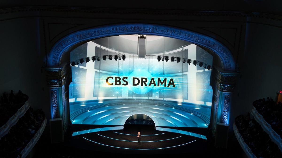 Photo 3 in '2016 CBS Upfront' gallery showcasing lighting design by Mike Baldassari of Mike-O-Matic Industries LLC