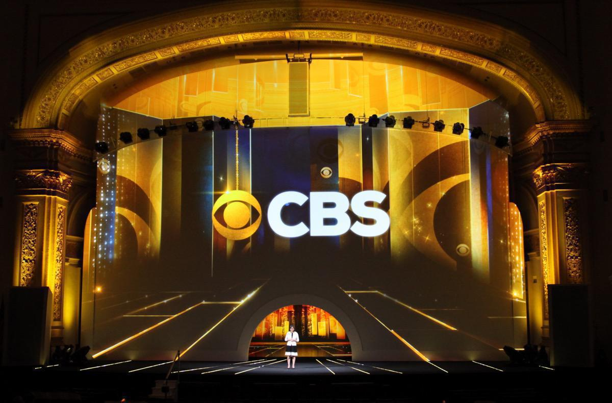 Photo 17 in '2015 CBS Upfront' gallery showcasing lighting design by Mike Baldassari of Mike-O-Matic Industries LLC