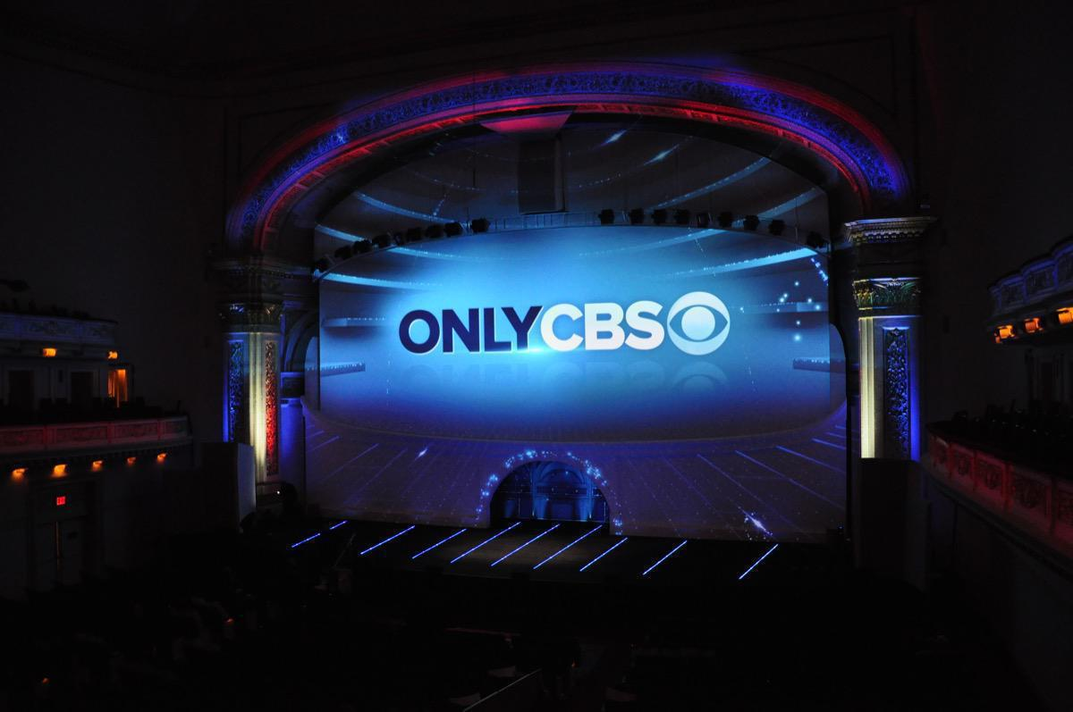 Photo 1 in '2013 CBS Upfront' gallery showcasing lighting design by Mike Baldassari of Mike-O-Matic Industries LLC