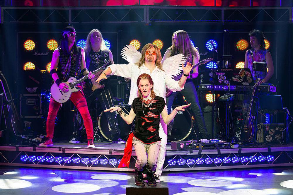 Photo 4 in 'Rock of Ages 10th Anniversary Tour' gallery showcasing lighting design by Mike Baldassari of Mike-O-Matic Industries LLC
