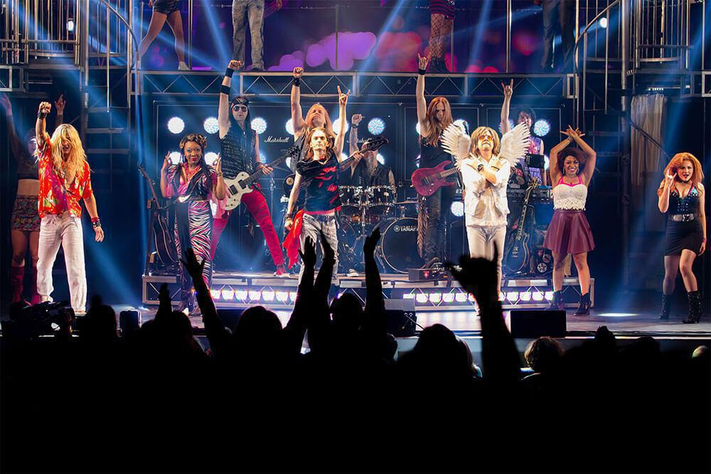 Photo 2 in 'Rock of Ages 10th Anniversary Tour' gallery showcasing lighting design by Mike Baldassari of Mike-O-Matic Industries LLC
