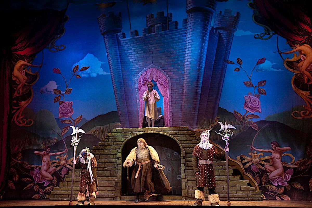 Photo 7 in 'Spamalot' gallery showcasing lighting design by Mike Baldassari of Mike-O-Matic Industries LLC
