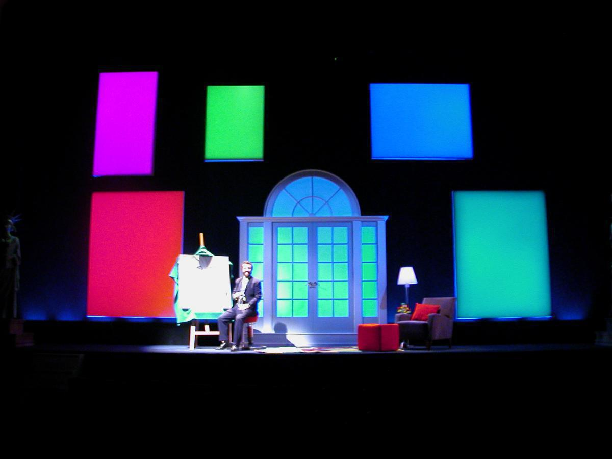 Photo 4 in 'Yakov Smirnoff: As Long As We Both Shall Laugh!' gallery showcasing lighting design by Mike Baldassari of Mike-O-Matic Industries LLC