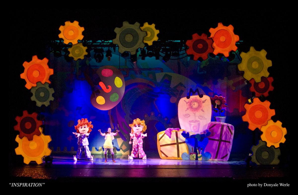 Photo 7 in 'DittyDoodle Works Pajama Party Live!' gallery showcasing lighting design by Mike Baldassari of Mike-O-Matic Industries LLC