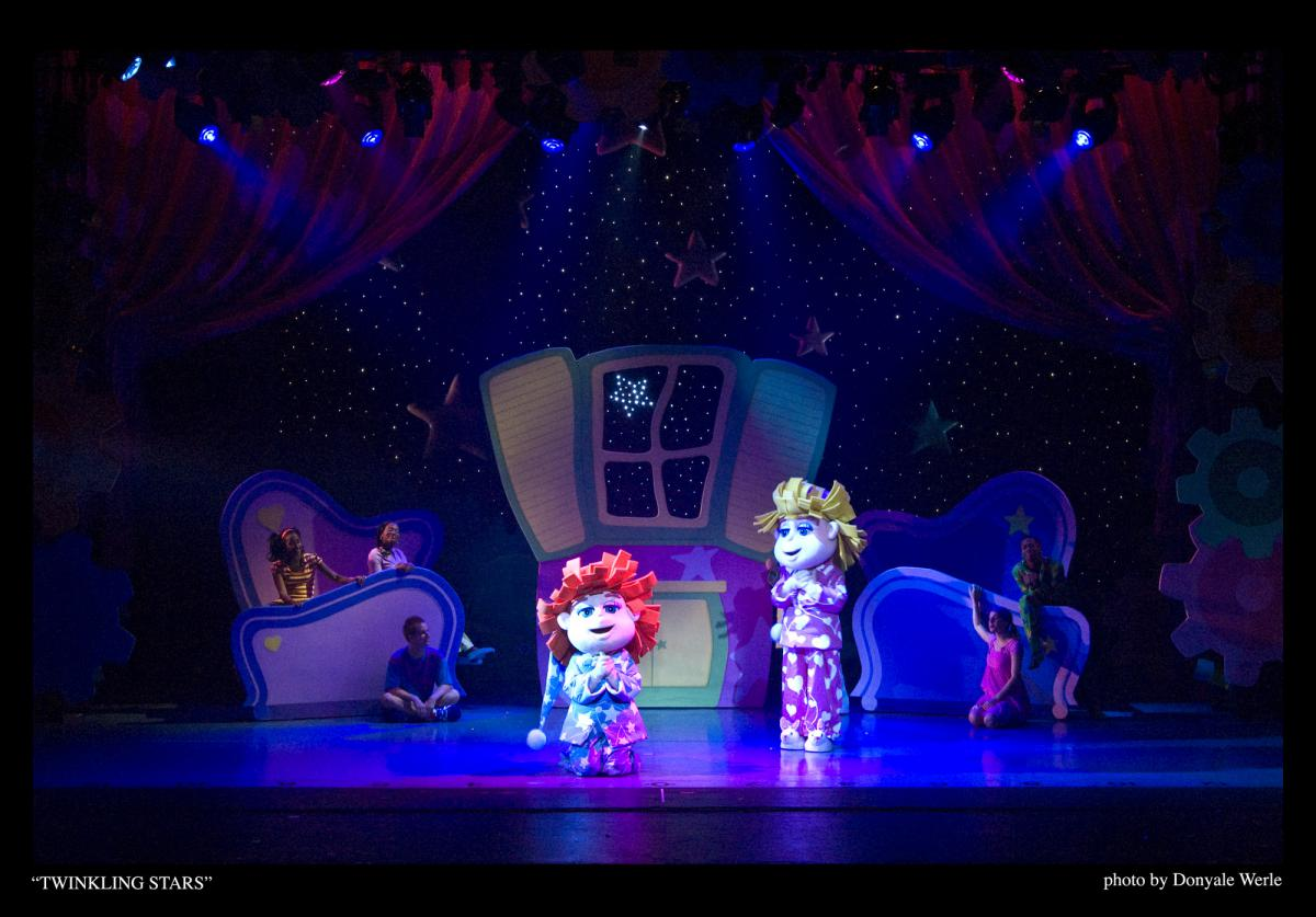 Photo 11 in 'DittyDoodle Works Pajama Party Live!' gallery showcasing lighting design by Mike Baldassari of Mike-O-Matic Industries LLC