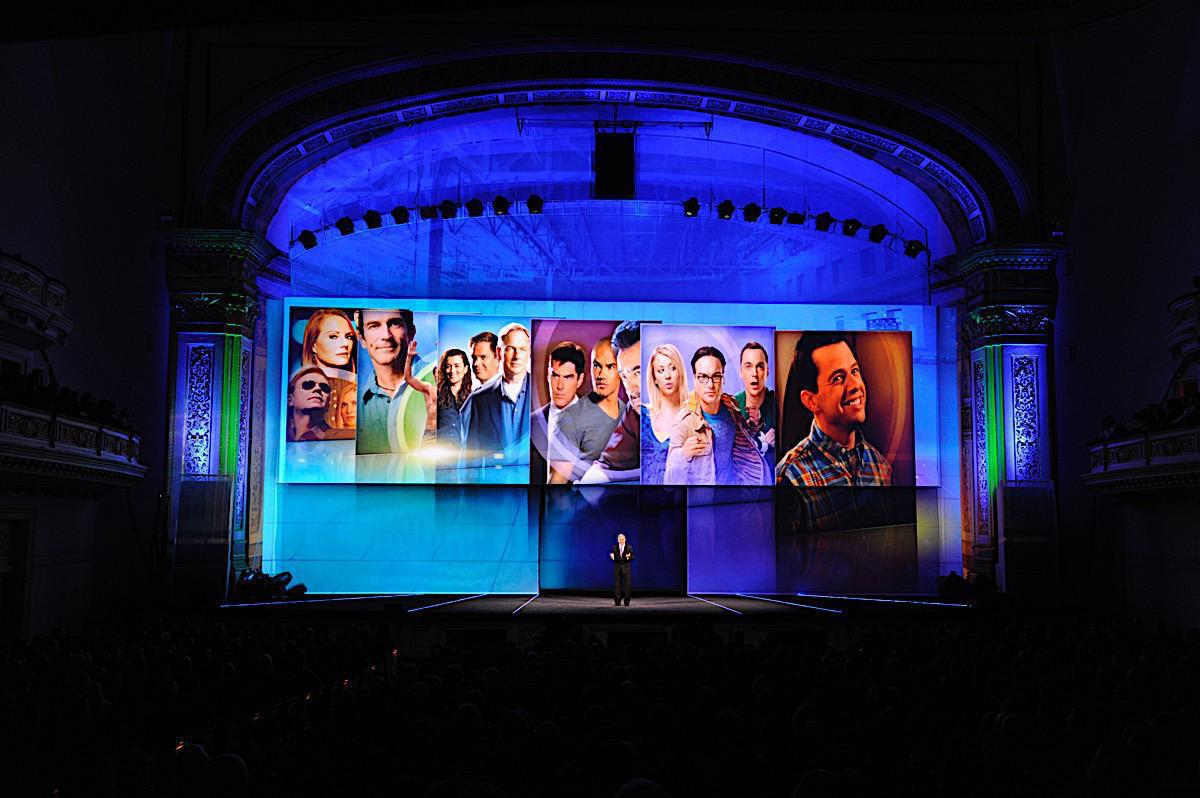 Photo 14 in '2011 CBS Upfront' gallery showcasing lighting design by Mike Baldassari of Mike-O-Matic Industries LLC