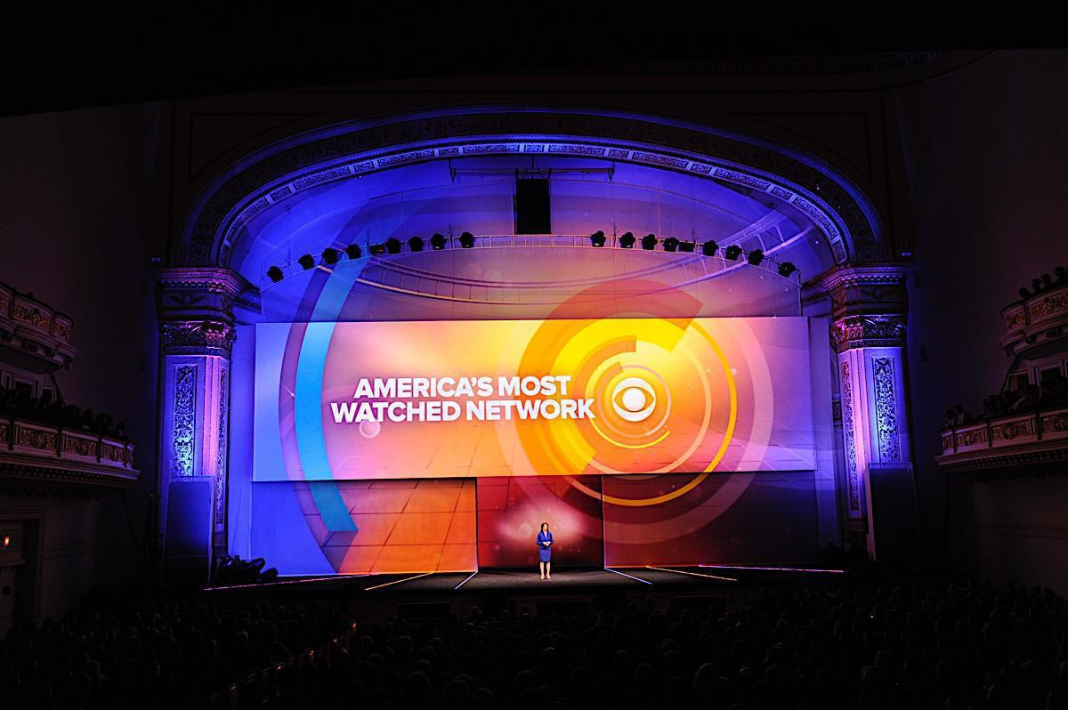 Photo 13 in '2011 CBS Upfront' gallery showcasing lighting design by Mike Baldassari of Mike-O-Matic Industries LLC