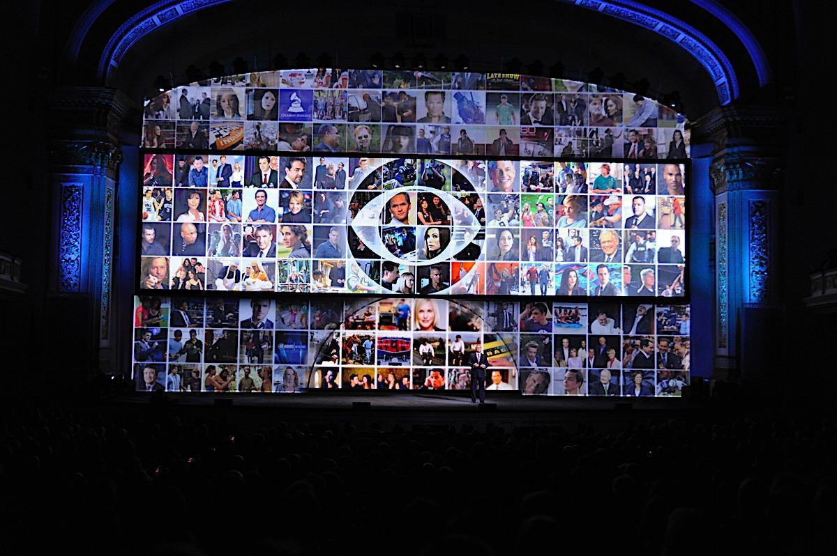 Photo 18 in '2010 CBS Upfront' gallery showcasing lighting design by Mike Baldassari of Mike-O-Matic Industries LLC