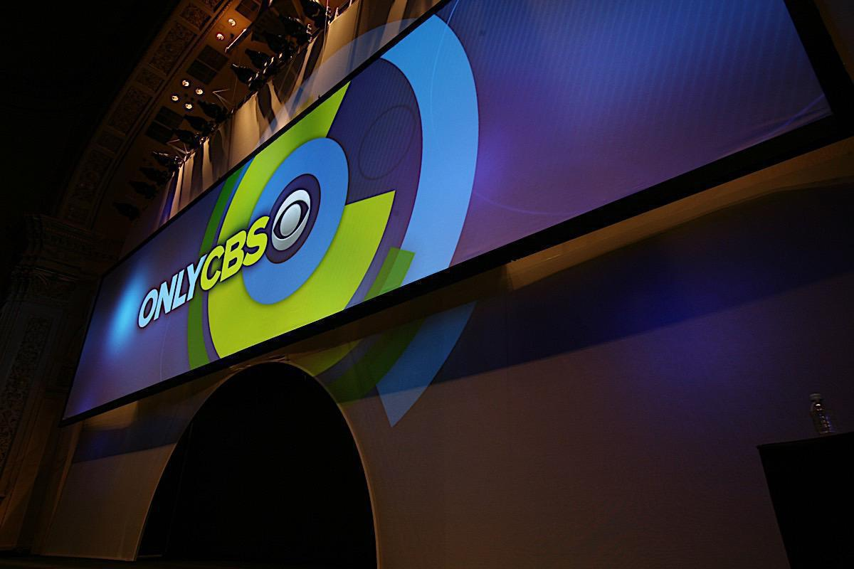 Photo 10 in '2010 CBS Upfront' gallery showcasing lighting design by Mike Baldassari of Mike-O-Matic Industries LLC