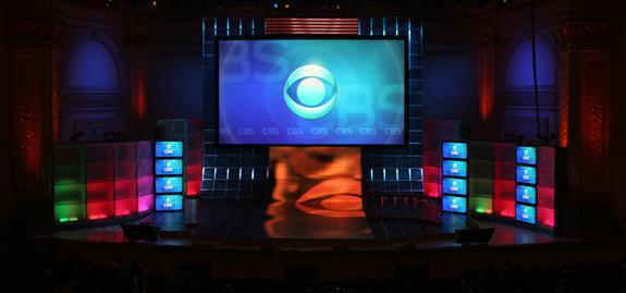 Photo 27 in '2007 CBS Upfront' gallery showcasing lighting design by Mike Baldassari of Mike-O-Matic Industries LLC
