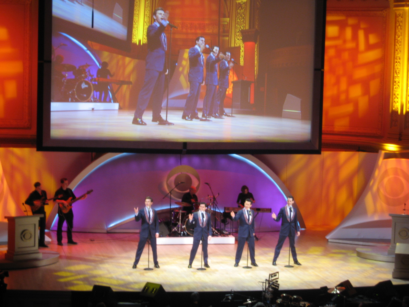 Photo 2 in 'CBS Upfront Presentation - Carnegie Hall' gallery showcasing lighting design by Mike Baldassari of Mike-O-Matic Industries LLC