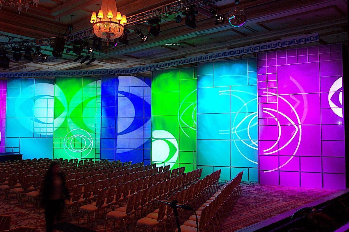 Photo 8 in 'CBS AFFILIATES Conference - The Bellagio Hotel' gallery showcasing lighting design by Mike Baldassari of Mike-O-Matic Industries LLC
