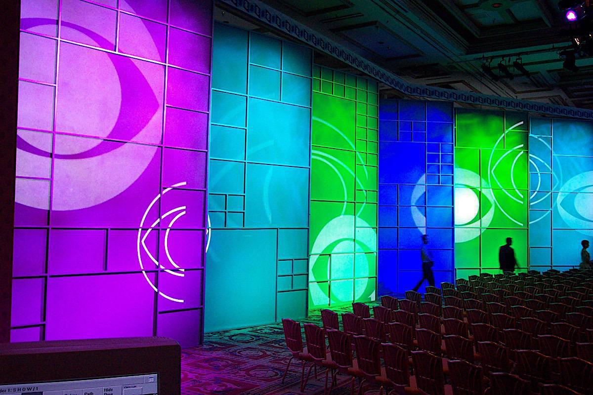 Photo 5 in 'CBS AFFILIATES Conference - The Bellagio Hotel' gallery showcasing lighting design by Mike Baldassari of Mike-O-Matic Industries LLC